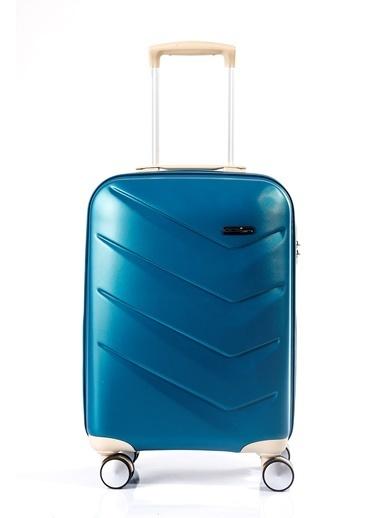 ÇÇS Çanta Valiz Mavi